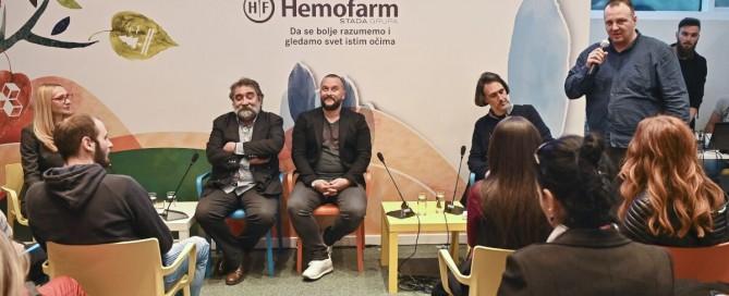 U Hemofarmu održana veoma zanimljiva debata sa sjajnim učesnicima. Tražila se stolica više.
